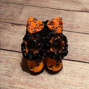 Vitamins Baby Novelty Headwrap And Booties 0-12